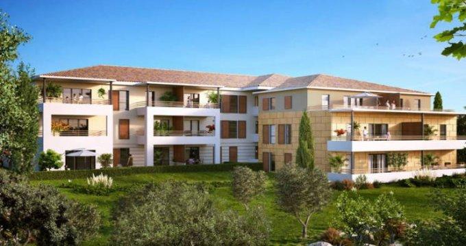 Achat / Vente immobilier neuf Aix-en-Provence au cœur du secteur Saint-Mitre (13090) - Réf. 4405
