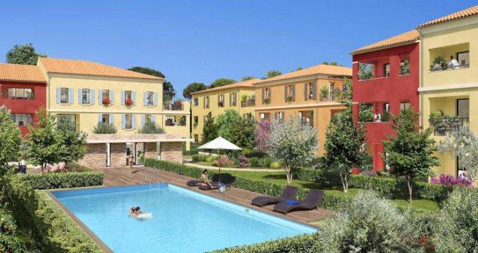 Achat / Vente immobilier neuf Aix-la-Duranne quartier calme et résidentiel (13090) - Réf. 4284
