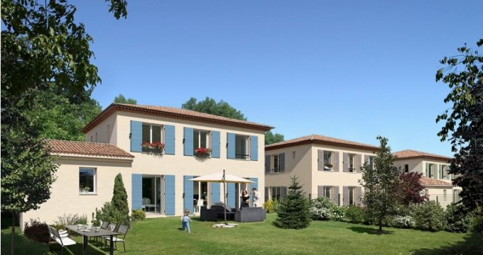 Achat / Vente immobilier neuf Allauch Les Tourres (13190) - Réf. 1016