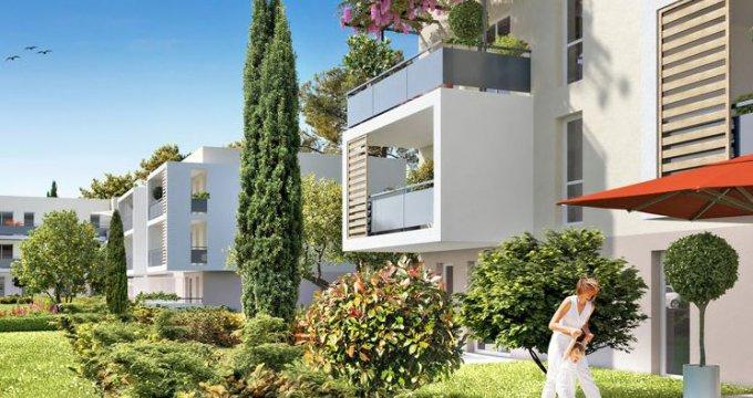 Achat / Vente immobilier neuf Gignac-la-Nerthe quartier Figuerolles (13180) - Réf. 1050