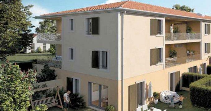 Achat / Vente immobilier neuf Lambesc au cœur du village (13410) - Réf. 5049