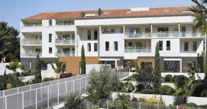 Achat / Vente immobilier neuf Marseille 08 à 300 mètres des plages (13008) - Réf. 2866