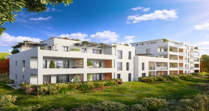 Achat / Vente immobilier neuf Marseille 11 au calme en plein cœur du village (13011) - Réf. 3320