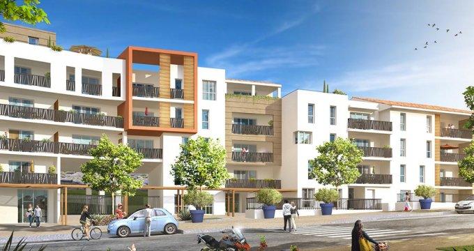 Achat / Vente immobilier neuf Marseille 14 Parc et pinède (13014) - Réf. 967