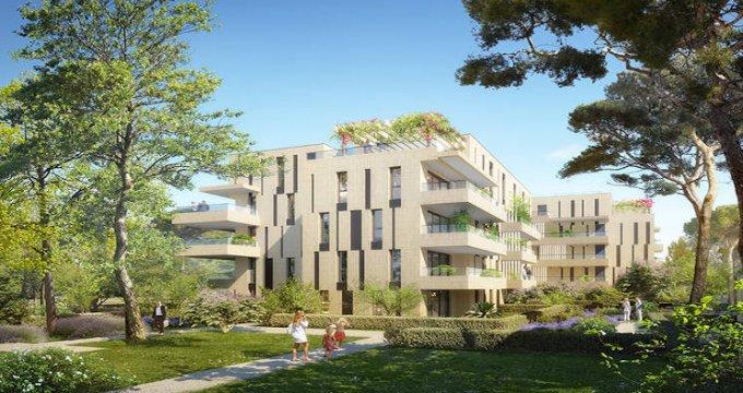 Achat / Vente immobilier neuf Marseille proche Parc Borély (13008) - Réf. 3639