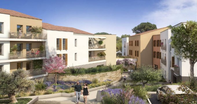 Achat / Vente immobilier neuf Meyreuil aux portes d'Aix-en-Provence (13590) - Réf. 4393