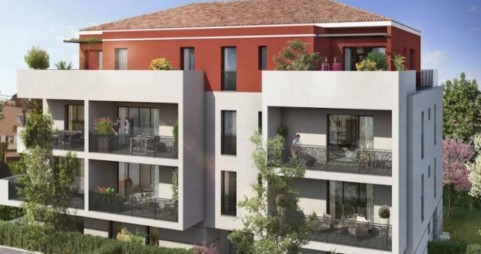 Achat / Vente immobilier neuf Plan-de-Cuques proche écoles et commodités (13380) - Réf. 4104
