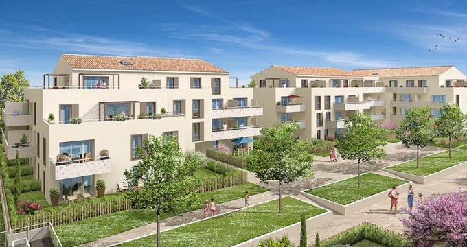 Achat / Vente immobilier neuf Rousset proche Aix-en-Provence (13790) - Réf. 1715
