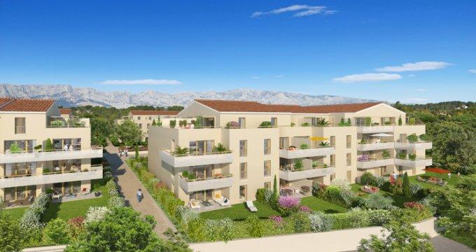 Achat / Vente immobilier neuf Rousset proche centre (13790) - Réf. 2733