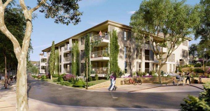 Achat / Vente immobilier neuf Saint-Cannat à deux pas du centre-ville (13760) - Réf. 4427