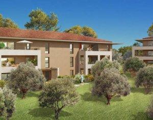 Achat / Vente immobilier neuf Aix-en-Provence au sein d'un environnement résidentiel et verdoyant (13090) - Réf. 4018