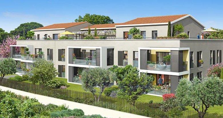 Achat / Vente immobilier neuf Aix-en-Provence à 10 minutes du centre-ville (13090) - Réf. 1596