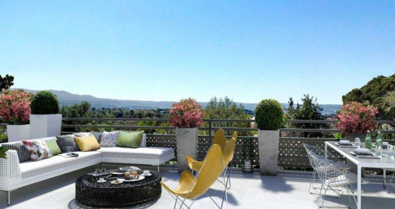 Achat / Vente immobilier neuf Aix-en-Provence à 3 km du centre (13090) - Réf. 4438