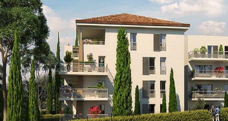 Achat / Vente immobilier neuf Aix-en-Provence à deux pas du centre (13090) - Réf. 2020