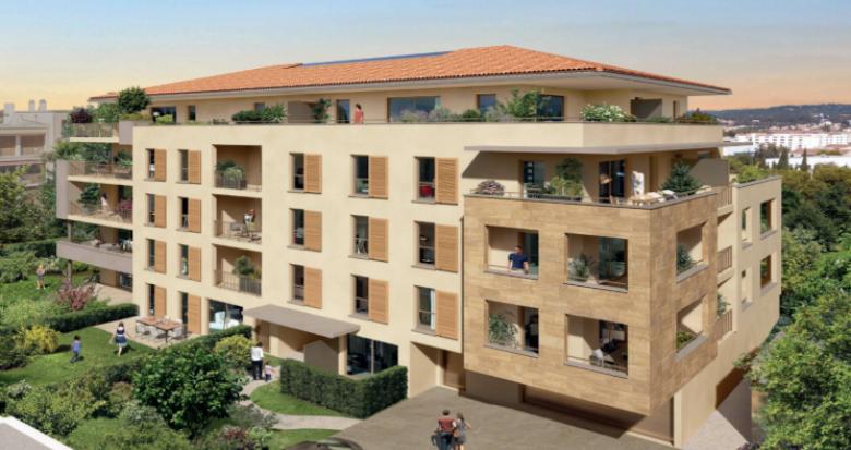 Achat / Vente immobilier neuf Aix-en-Provence à moins de 5min de la gare (13090) - Réf. 5472