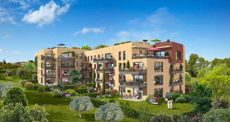 Achat / Vente immobilier neuf Aix-en-Provence au coeur d'Aix-la-Duranne (13090) - Réf. 3990