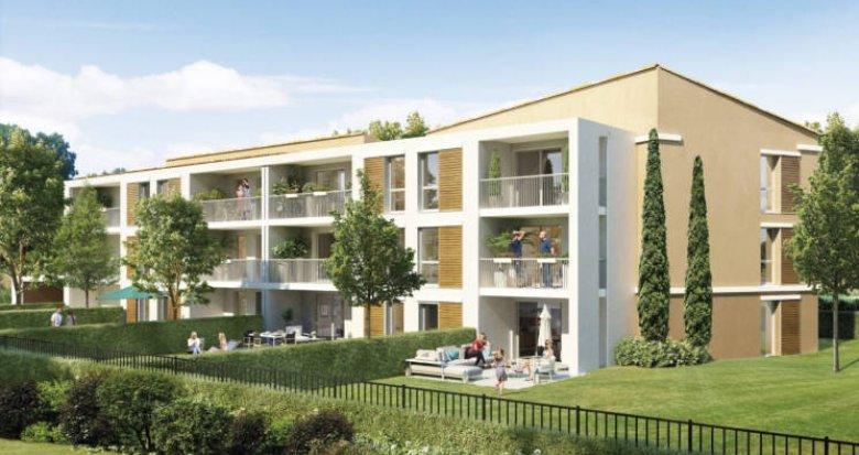 Achat / Vente immobilier neuf Aix en Provence au pied de la Sainte-Victoire (13090) - Réf. 3038