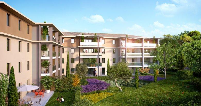 Achat / Vente immobilier neuf Aix-en-Provence Les Platanes (13090) - Réf. 1049