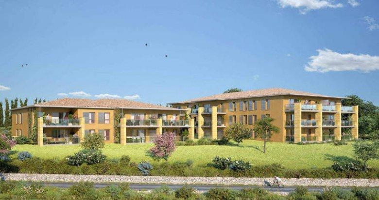 Achat / Vente immobilier neuf Aix-en-Provence niché dans le secteur de Saint-Mitre (13090) - Réf. 5996
