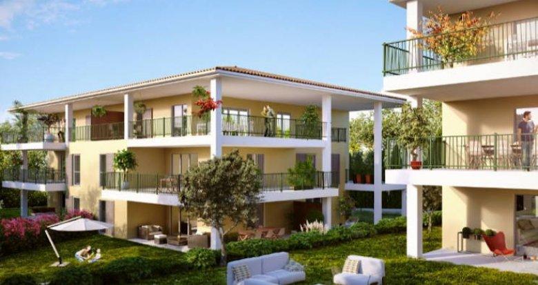 Achat / Vente immobilier neuf Aix-en-Provence proche centre-ville (13090) - Réf. 4576
