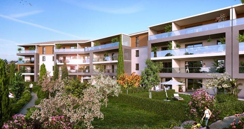 Achat / Vente immobilier neuf Aix-en-Provence proche du Centre commercial de Jas de Bouffan (13090) - Réf. 1358
