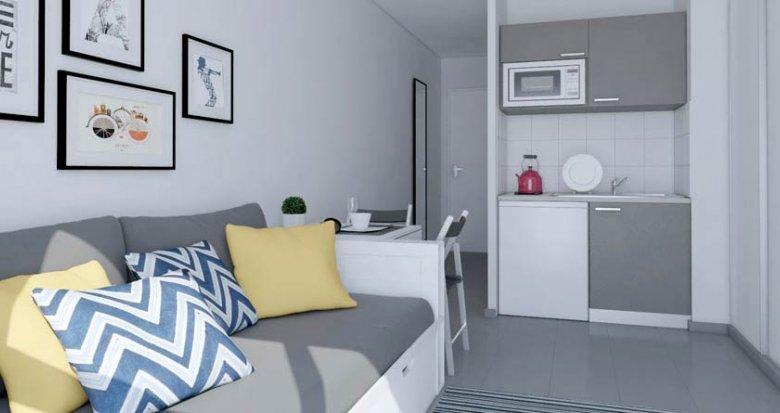 Achat / Vente immobilier neuf Aix-en-Provence proche facultés (13090) - Réf. 471