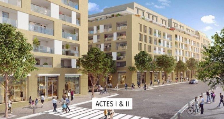 Achat / Vente immobilier neuf Aix-en-Provence proche Les Allées Provençales (13090) - Réf. 3528