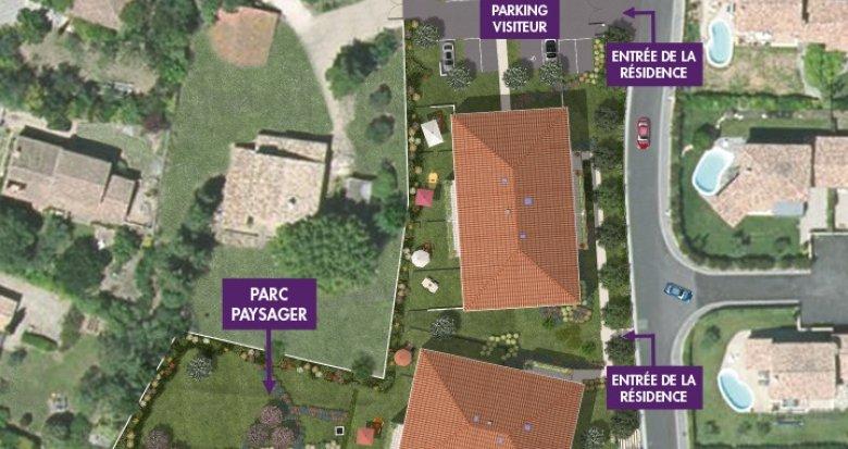 Achat / Vente immobilier neuf Aix-en-Provence proche Parc Saint-Mitre (13090) - Réf. 314