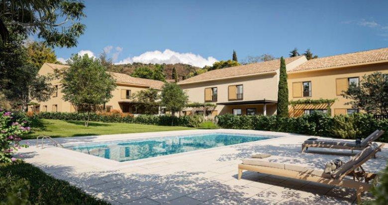 Achat / Vente immobilier neuf Aix-en-Provence quartier calme de Luynes (13090) - Réf. 5913