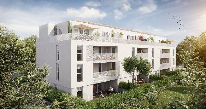 Achat / Vente immobilier neuf Aix-en-Provence quartier des facultés (13090) - Réf. 869