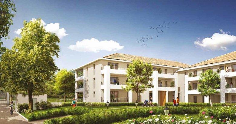 Achat / Vente immobilier neuf Aix-en-Provence quartier Luynes proche village (13090) - Réf. 955