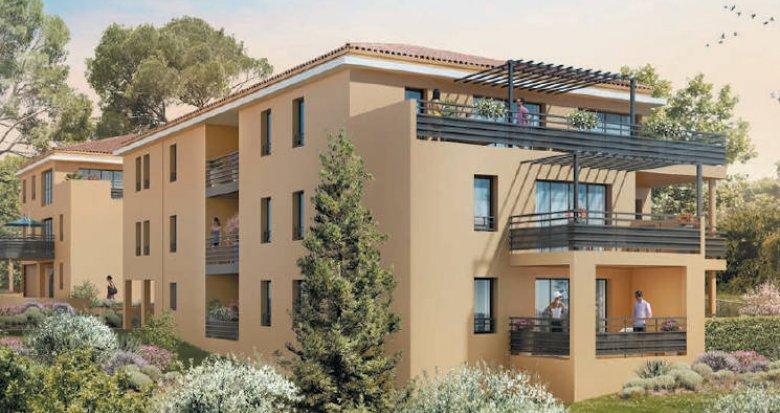Achat / Vente immobilier neuf Aix-en-Provence quartier Pey-Blanc (13090) - Réf. 4901