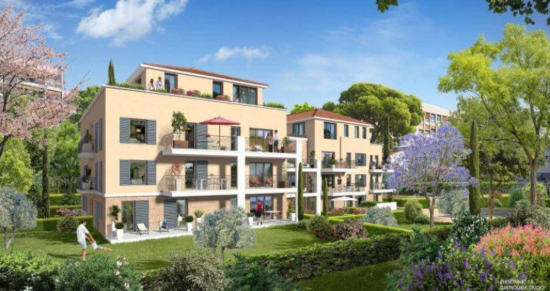 Achat / Vente immobilier neuf Aix en Provence secteur de Tamaris (13090) - Réf. 3037