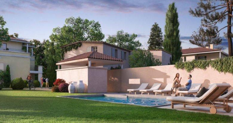 Achat / Vente immobilier neuf Aix-en-Provence secteur Puyricard (13090) - Réf. 3023