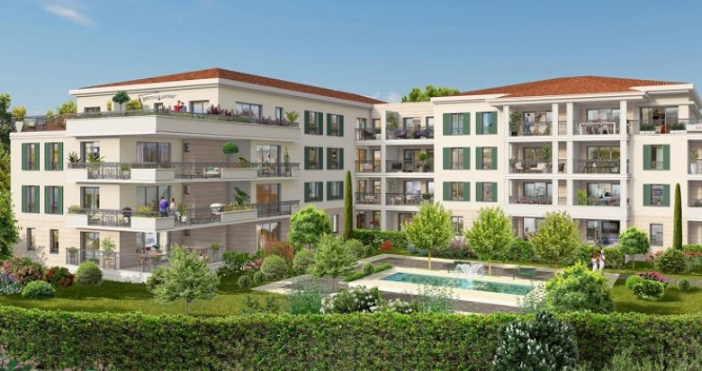 Achat / Vente immobilier neuf Aix-en-Provence vue Sainte-Victoire (13090) - Réf. 4887