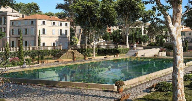 Achat / Vente immobilier neuf Aix-La Duranne proche école et commerces (13090) - Réf. 4278