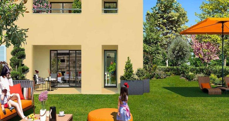 Achat / Vente immobilier neuf Aix-la-Duranne quartier calme et résidentiel (13090) - Réf. 4211