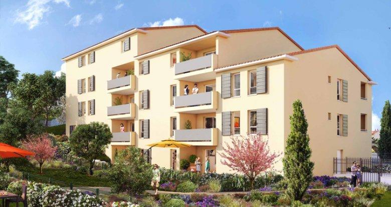 Achat / Vente immobilier neuf Allauch cœur village (13190) - Réf. 1928