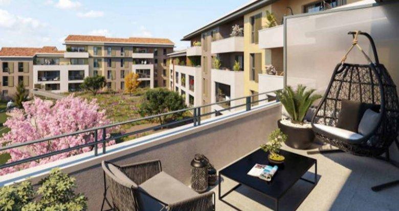 Achat / Vente immobilier neuf Auriol proche centre et accès routiers (13390) - Réf. 4851