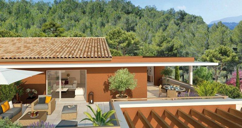 Achat / Vente immobilier neuf Châteauneuf-le-Rouge centre-bourg (13790) - Réf. 405