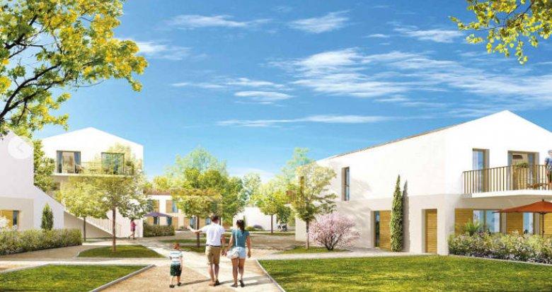 Achat / Vente immobilier neuf Châteauneuf-le-Rouge secteur de la Gavotte (13790) - Réf. 5419