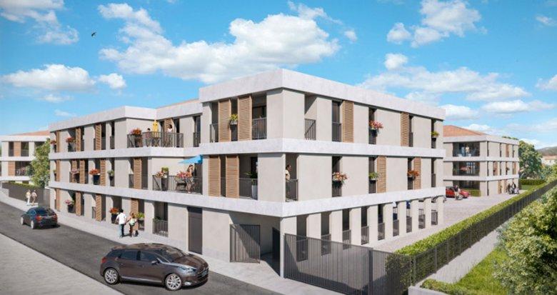 Achat / Vente immobilier neuf Eyguières au coeur des Alpilles (13430) - Réf. 551