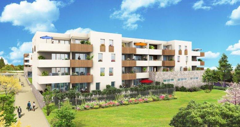 Achat / Vente immobilier neuf Gignac la Nerthe au cœur d'un village provençal (13180) - Réf. 1044