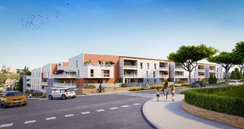 Achat / Vente immobilier neuf Istres à 200m du centre ville (13800) - Réf. 6007