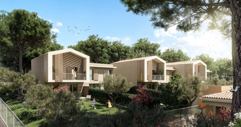 Achat / Vente immobilier neuf La Ciotat au coeur d'un cadre naturel préservé (13600) - Réf. 6177