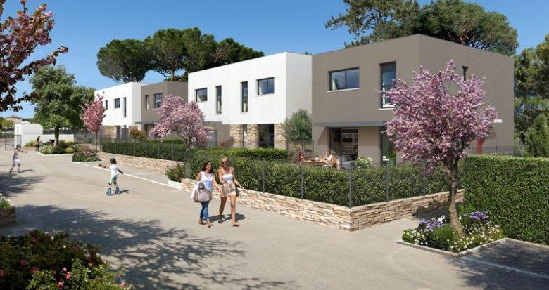 Achat / Vente immobilier neuf La Ciotat proche Calanques de Figuerolles (13600) - Réf. 2112