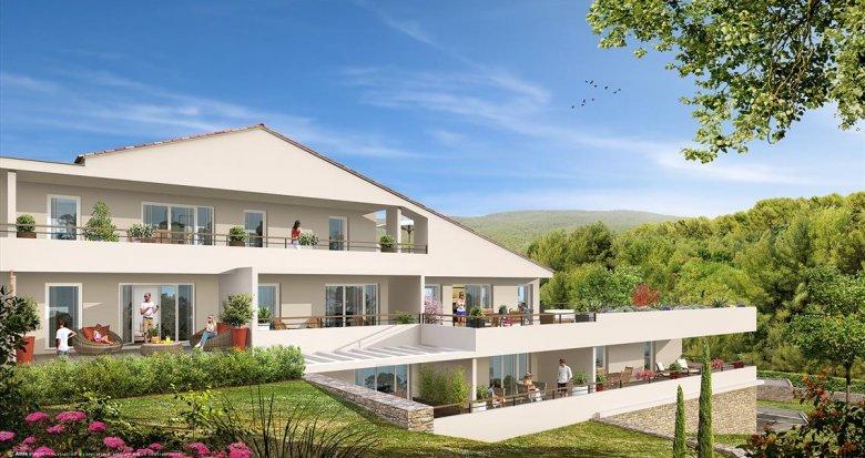Achat / Vente immobilier neuf La Ciotat quartier de Pareyraou (13600) - Réf. 550