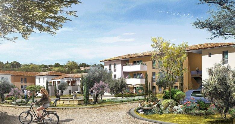 Achat / Vente immobilier neuf La Fare les Oliviers proche zone d'activités (13580) - Réf. 638