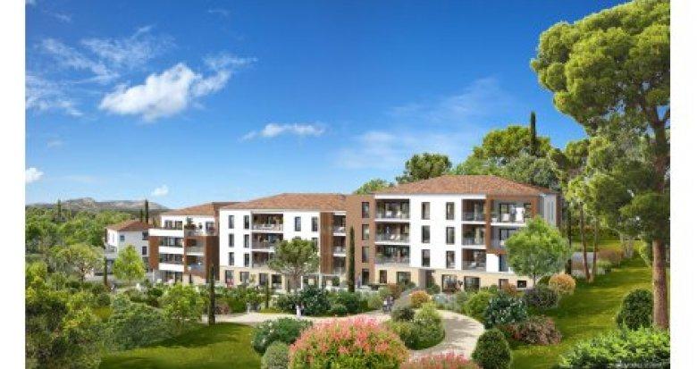 Achat / Vente immobilier neuf La Penne sur Huveaune proche des établissements scolaires (13821) - Réf. 1514