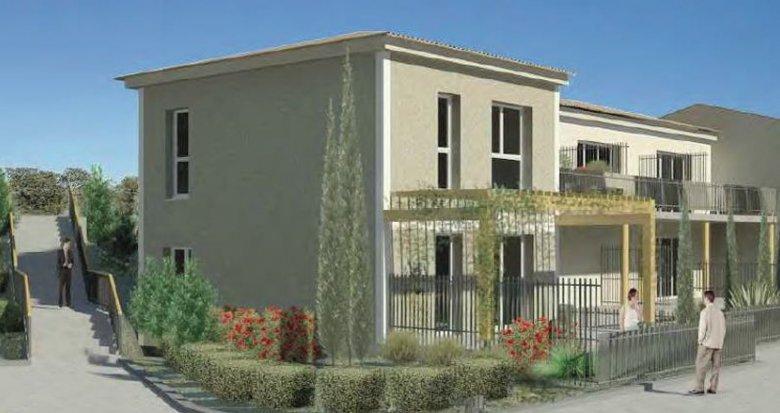 Achat / Vente immobilier neuf Lançon-Provence proche Roquilles (13680) - Réf. 1046